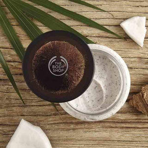 The Body Shop Makeup - NEW!  THE BODY SHOP COCONUT EXFOLIATING BODY SCRUB